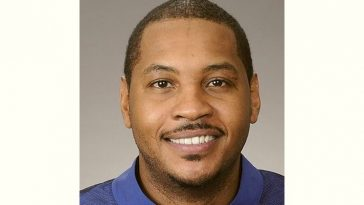 Carmelo Anthony Age and Birthday