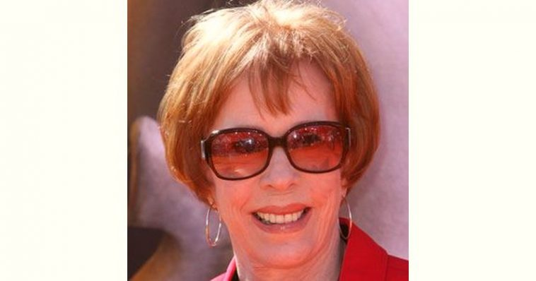 Carol Burnett Age and Birthday