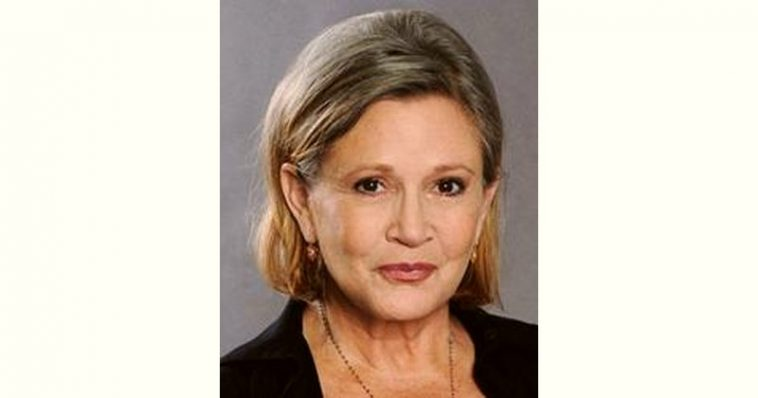 Carrie Fisher Age and Birthday