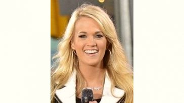 Carrie Underwood Age and Birthday