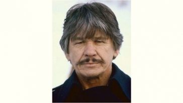 Charles Bronson Age and Birthday