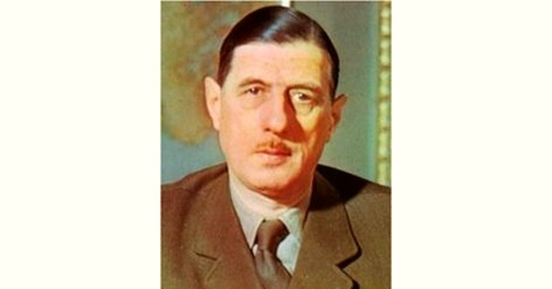 Charles de Gaulle Age and Birthday