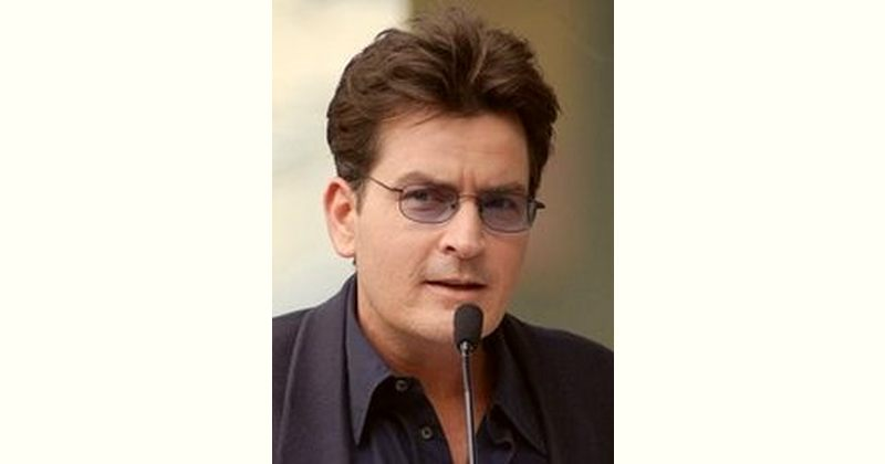 Charlie Sheen Age and Birthday