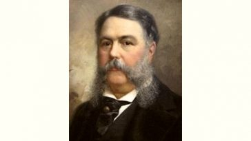 Chester A. Arthur Age and Birthday