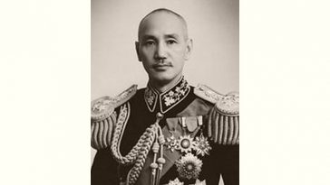 Chiang Kai-shek Age and Birthday