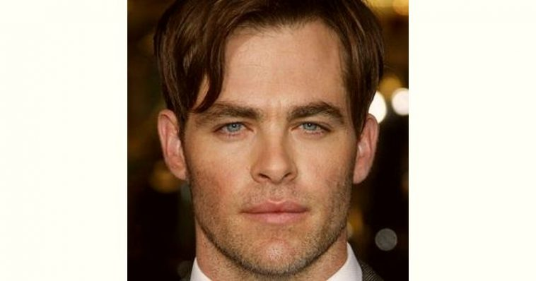 Chris Pine Age and Birthday