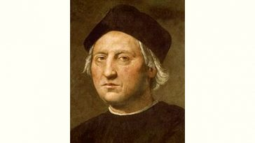 Christopher Columbus Age and Birthday