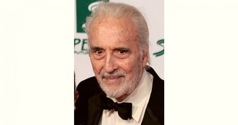 Christopher Lee Age and Birthday