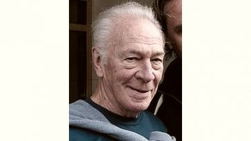 Christopher Plummer Age and Birthday
