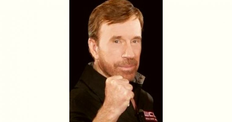 Chuck Norris Age and Birthday