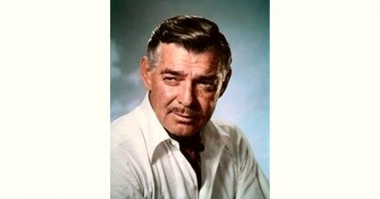 Clark Gable Age and Birthday