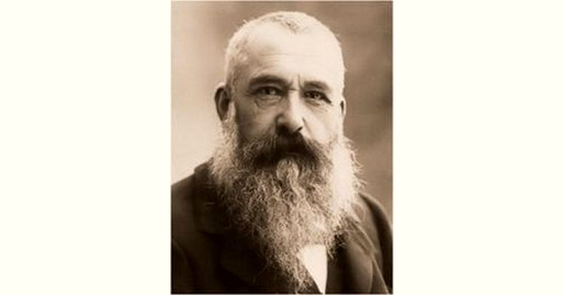 Claude Monet Age and Birthday