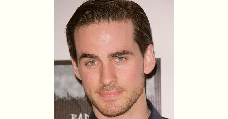 Colin Odonoghue Age and Birthday