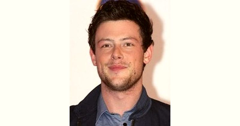 Cory Monteith Age and Birthday