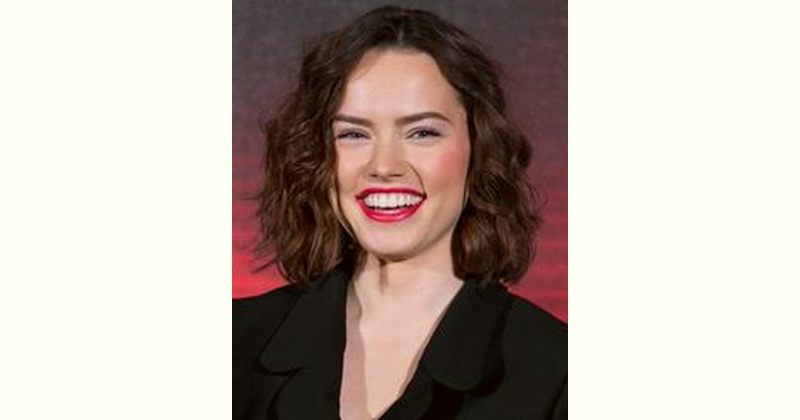Daisy Ridley Age and Birthday