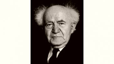 David Ben-Gurion Age and Birthday