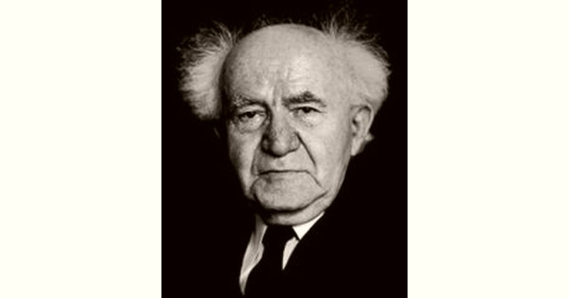 David Ben-Gurion Age and Birthday
