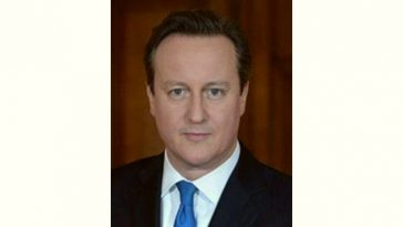 David Cameron Age and Birthday