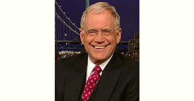 David Letterman Age and Birthday