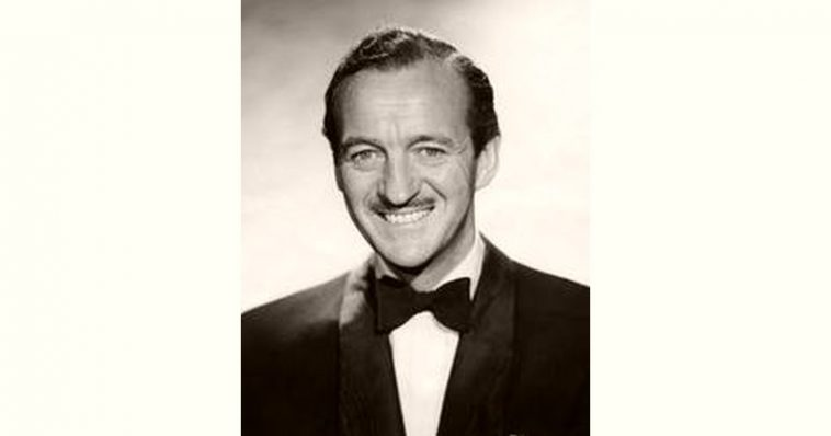 David Niven Age and Birthday