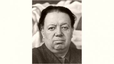 Diego Rivera Age and Birthday