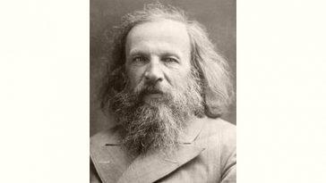 Dmitri Mendeleev Age and Birthday