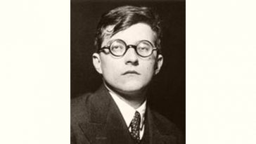 Dmitri Shostakovich Age and Birthday