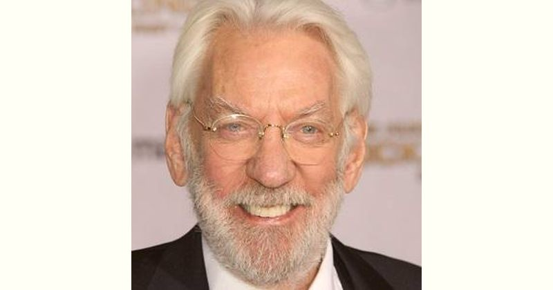 Donald Sutherland Age and Birthday