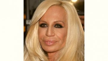 Donatella Versace Age and Birthday