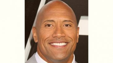 Dwayne Johnson Age and Birthday