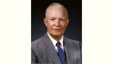 Dwight D. Eisenhower Age and Birthday