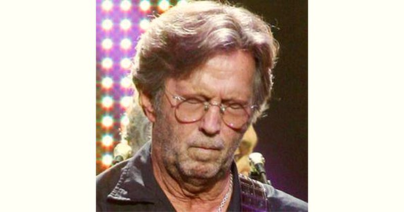 E Clapton Age and Birthday