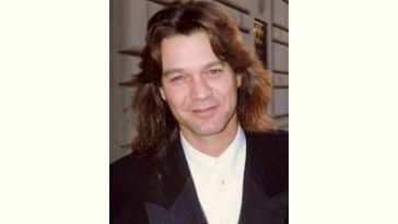 Eddie Van Halen Age and Birthday