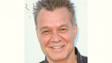 Eddie Vanhalen Age and Birthday
