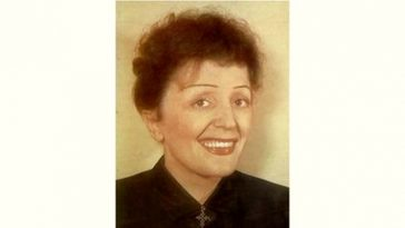 Edith Piaf Age and Birthday