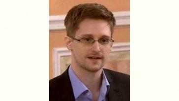 Edward Snowden Age and Birthday