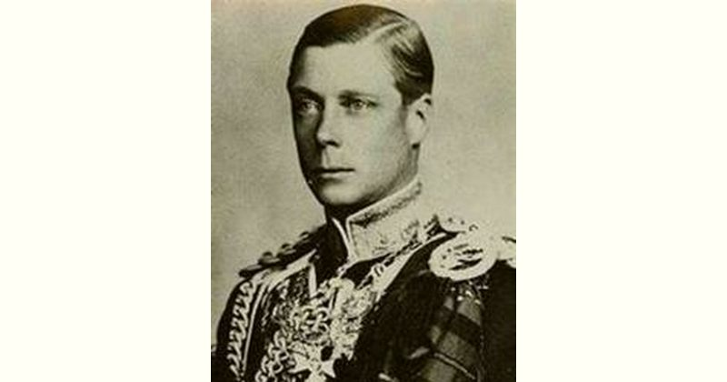 Edward VIII Age and Birthday
