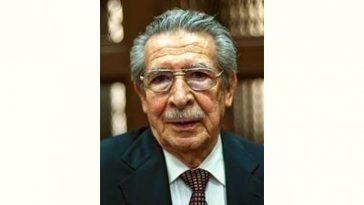 Efraín Ríos Montt Age and Birthday