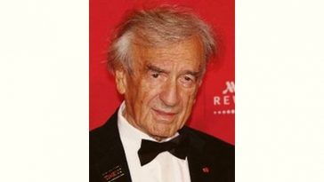 Elie Wiesel Age and Birthday