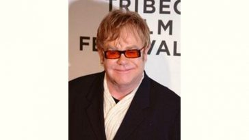 Elton John Age and Birthday