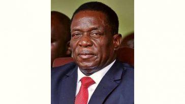Emmerson Mnangagwa Age and Birthday