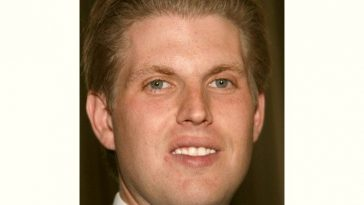 Eric Trump Age and Birthday