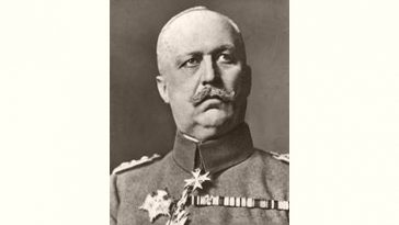 Erich Ludendorff Age and Birthday