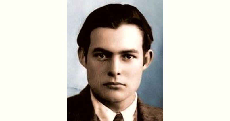 Ernest Hemingway Age and Birthday