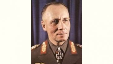 Erwin Rommel Age and Birthday