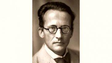 Erwin Schrödinger Age and Birthday