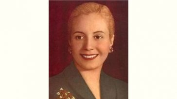 Eva Peron Age and Birthday