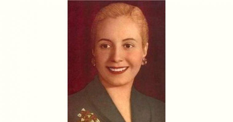 Eva Perón Age and Birthday