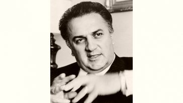 Federico Fellini Age and Birthday