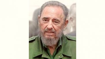 Fidel Castro Age and Birthday